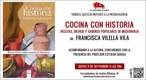 Invitación COCINA CON HISTORIA