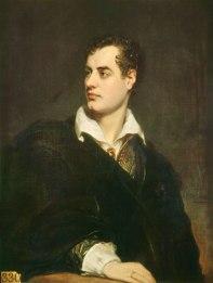 Retrato de Lord Byron por Richard Westall (1824)