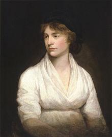 Mary Wollstonecraft por John Opie hacia 1797